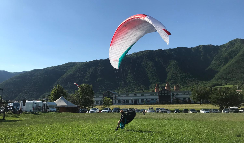 Reisen - Bassano B-Schein Training - Karussell